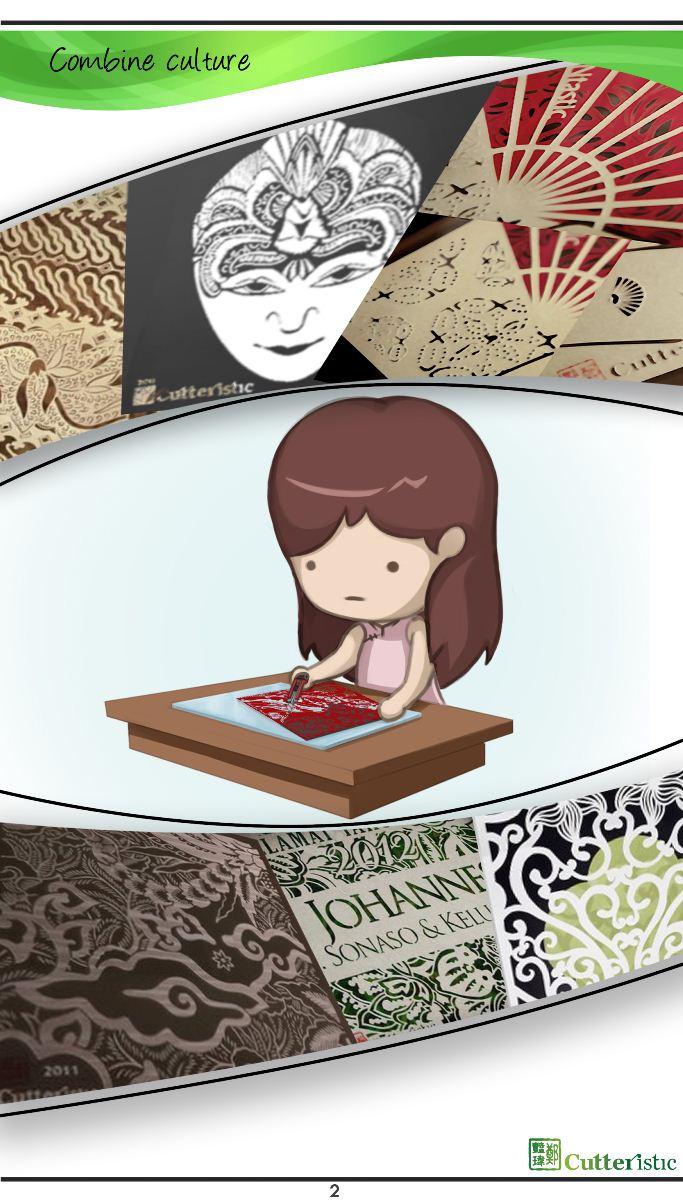 Langkah-langkah cara membuat paper cutting juga bahan dan alat