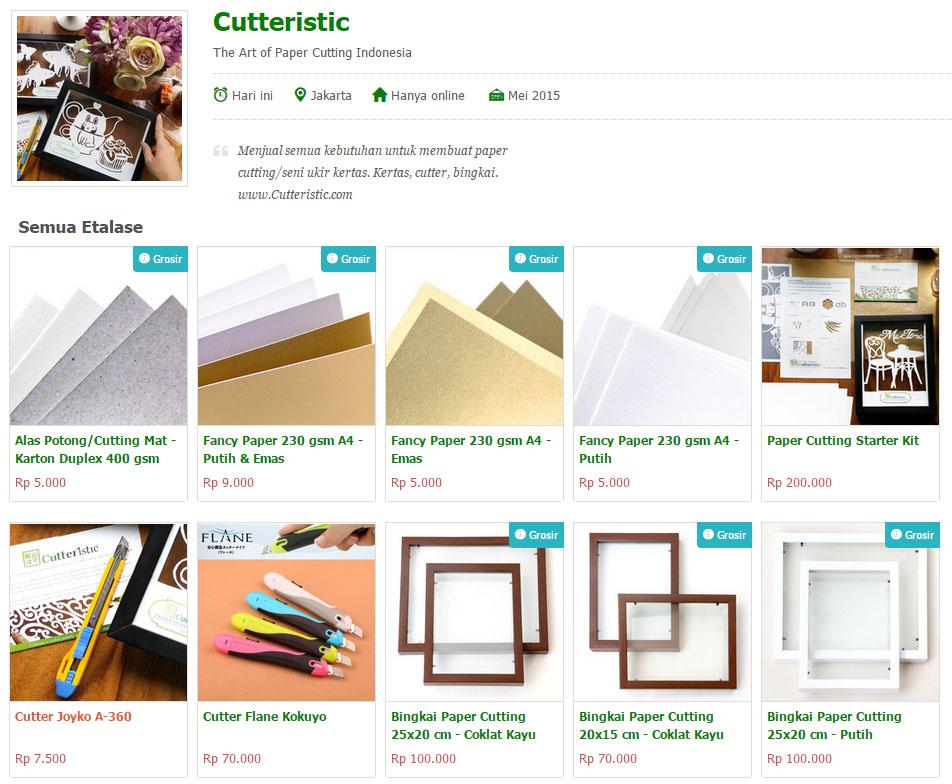 Cutteristic - Shop