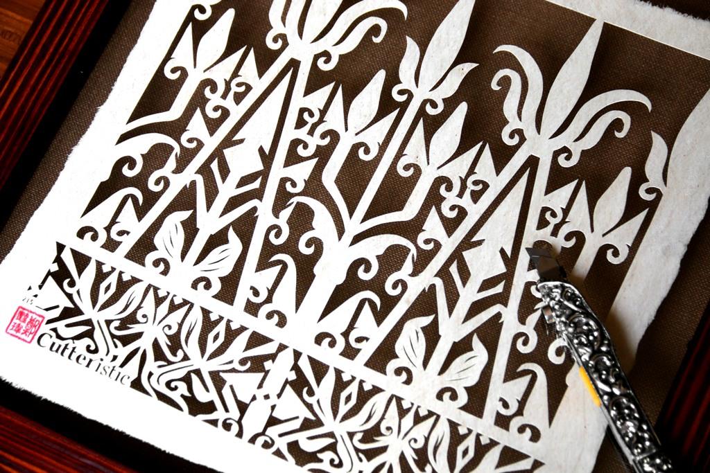 Press Release: Paper Cutting - Motif Kuno Indonesia ...