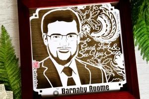 Cutteristic - Kado Farewell BP Senior Geologist, Barnaby Roome 3