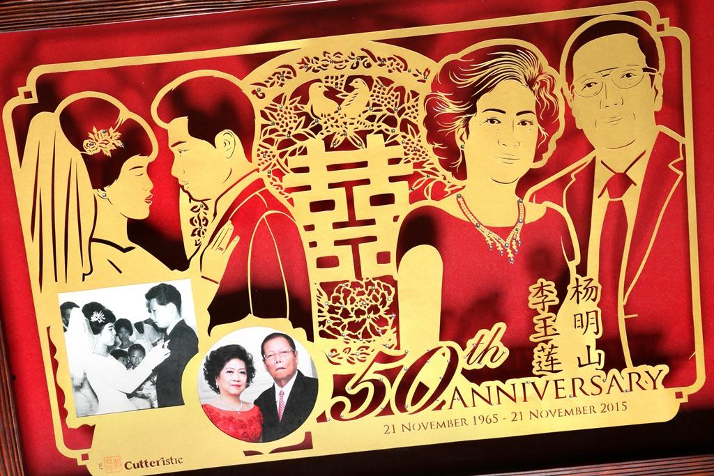 Cutteristic u2013 kado ulang tahun pernikahan u2013 50th anniversary 1
