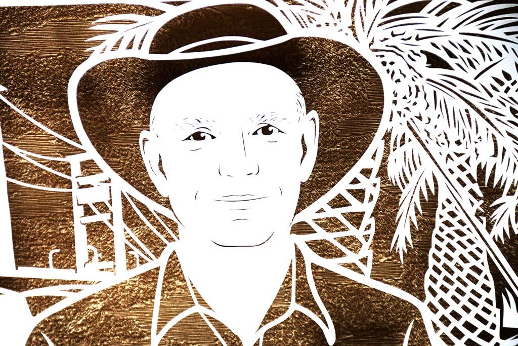 Line Art Wajah : Cutteristic u kado farewell cargill john hartmann