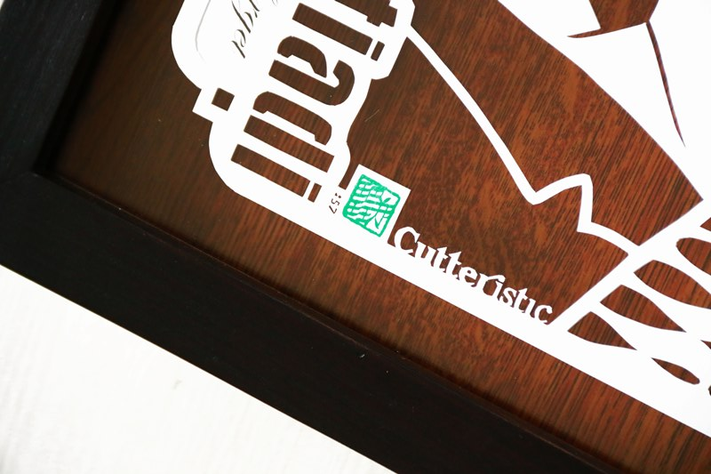 Souvenir perusahaan unik dari laser cutting untuk acara eksklusif