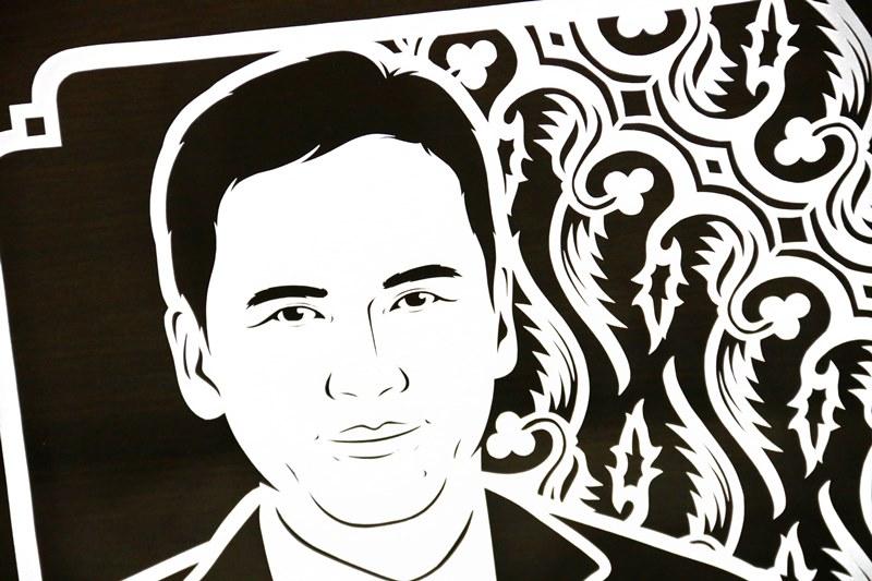 Sketsa wajah paper cutting untuk kado ulang tahun yang unik & eksklusif kepada sahabat laki-laki, pacar, ayah, kakek, paman, rekan kerja, atasan, boss