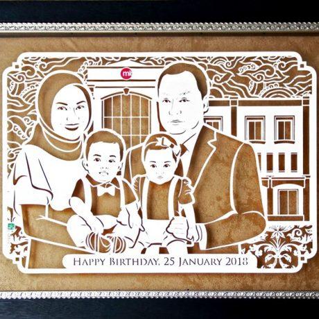 100+ Gambar Sketsa Foto Keluarga Terbaik