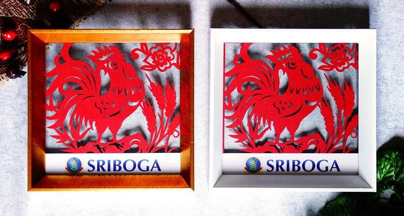 Souvenir Imlek Paper cutting motif tradisional Cina dengan simbol pembawa keberuntungan, kemakmuran, dan umur panjang